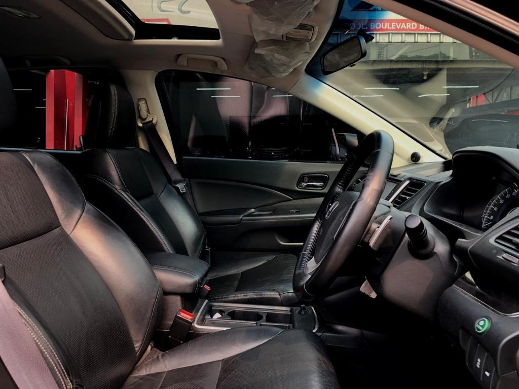 Honda CRV 2.400 CC Prestige Automatic 2015 Hitam, Dp 65,9 Jt No Polisi Ganjil
