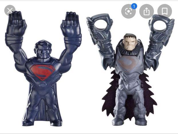 Man of Steel Superman & General Zod quick shot toys 2013