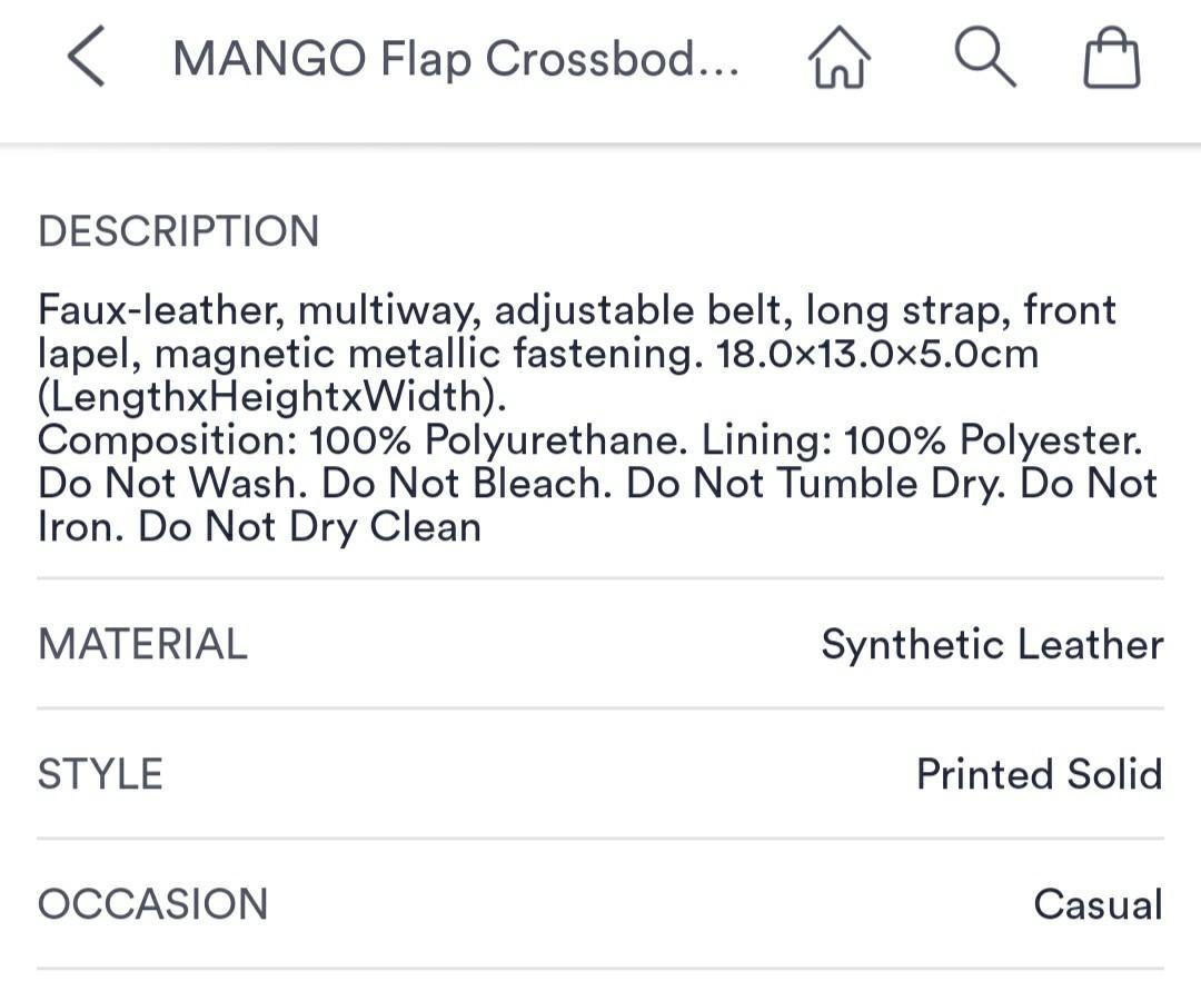 Mango Flap Crossbody