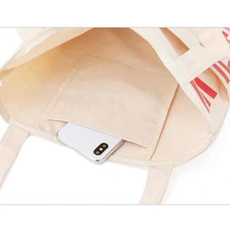 Milkfed 日本雜誌款可愛米色 休閒時尚帆布袋 托特包