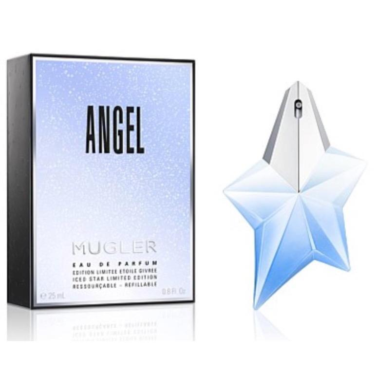 MUGLER Angel Iced Star EDP 25ml Refillable perfume RRP$115