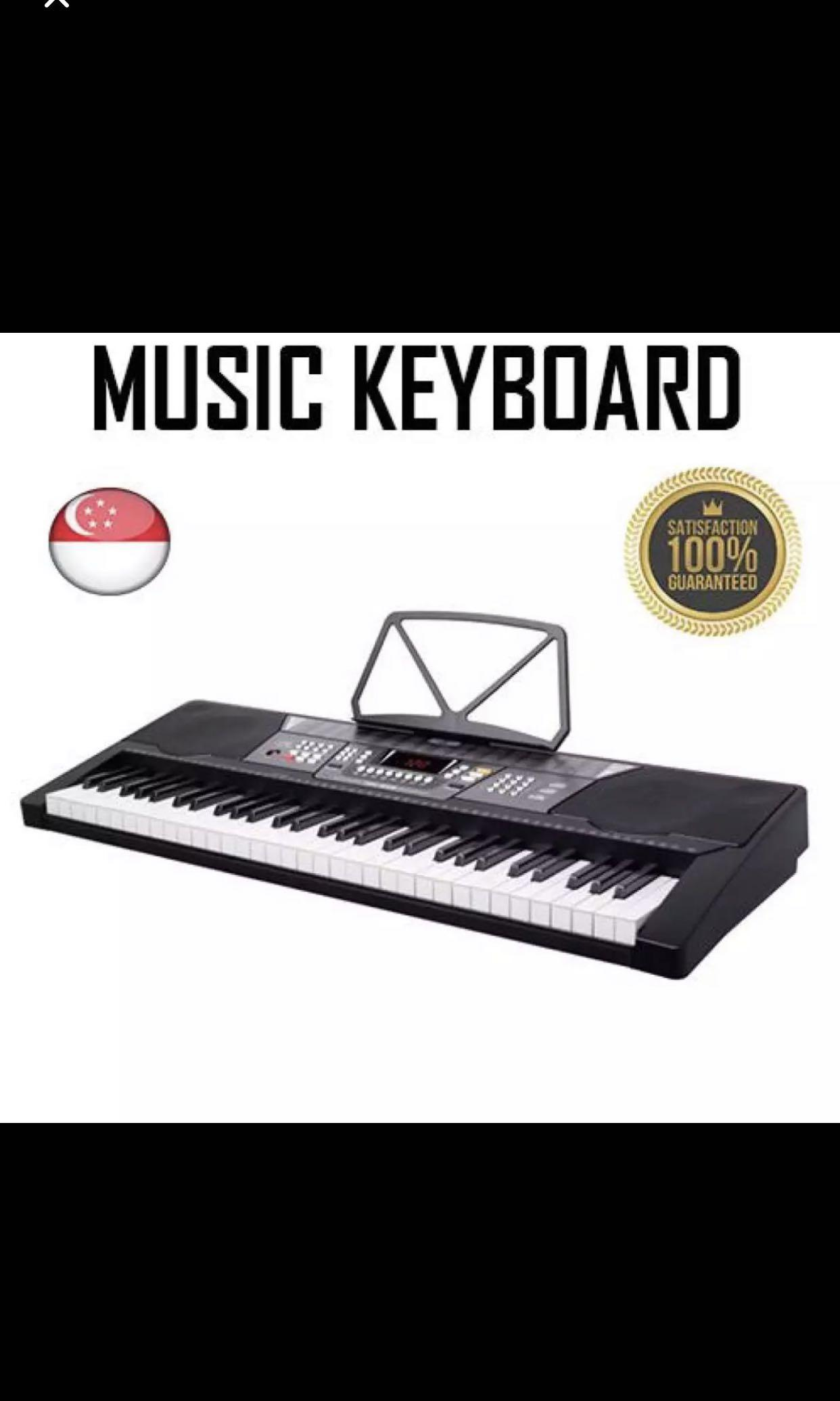 Music keyboard And Stand