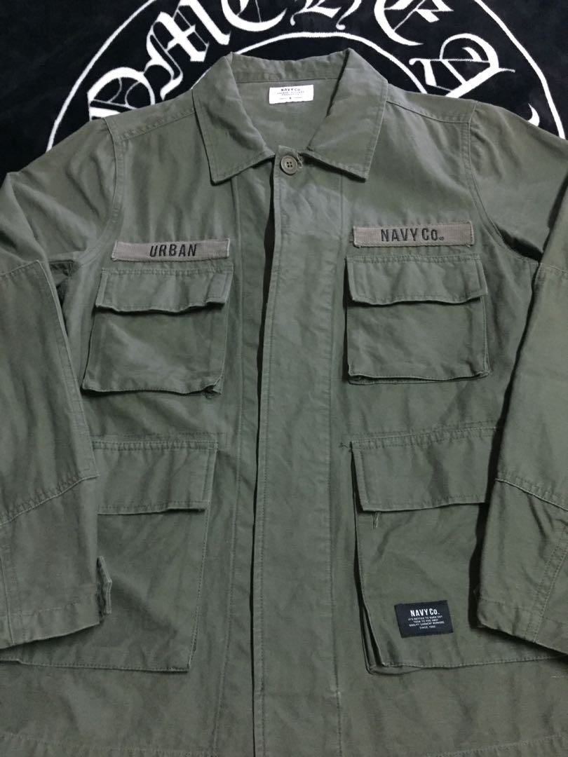 NAVY 工裝 軍綠 工作襯衫 類似Wtaps