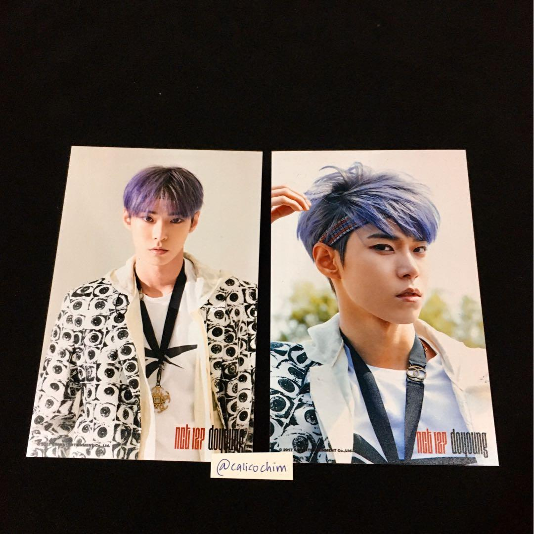 NCT127 OFFICIAL COEX SUM GOODS CHERRY BOMB DOYOUNG PHOTO