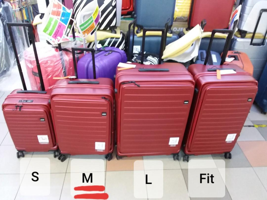New LOJEL Cubo (M) size Luggage *Including 10 YEAR Warranty with official receipt