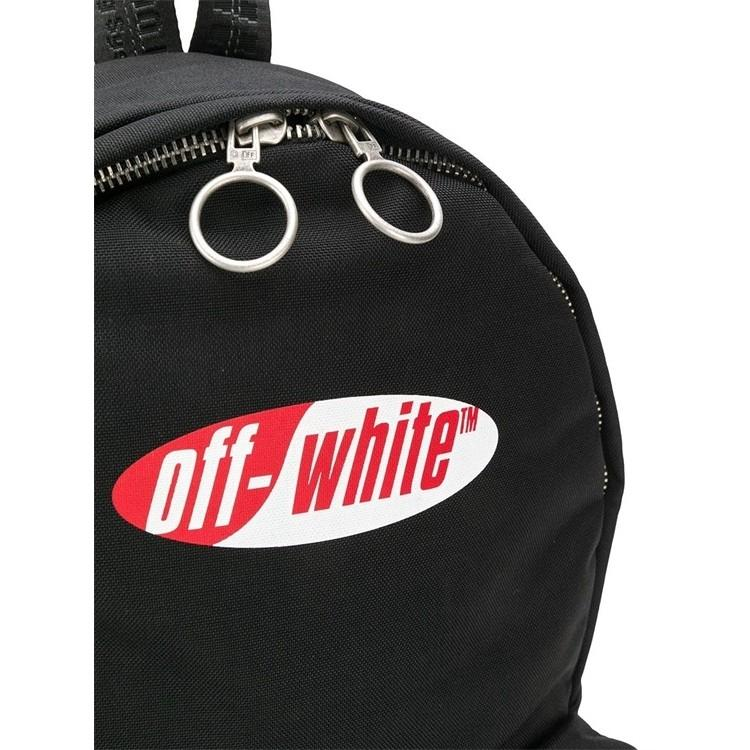 Off White 1:1High-quality Backpack Laptop Travel Bag