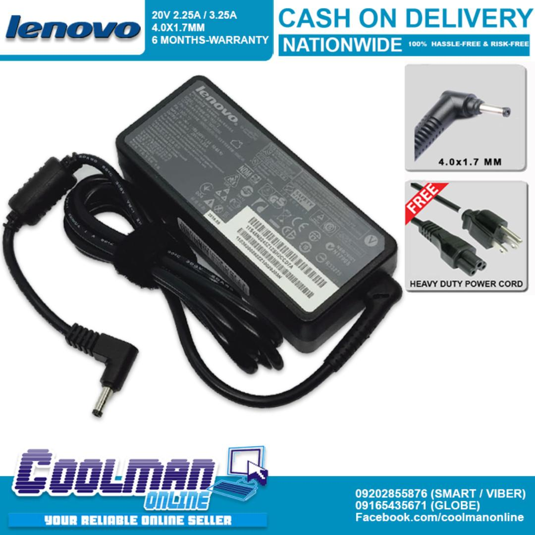 45W Original Lenovo ideapad 110 Touch-15ACL 110-15IBR charger ac adapter