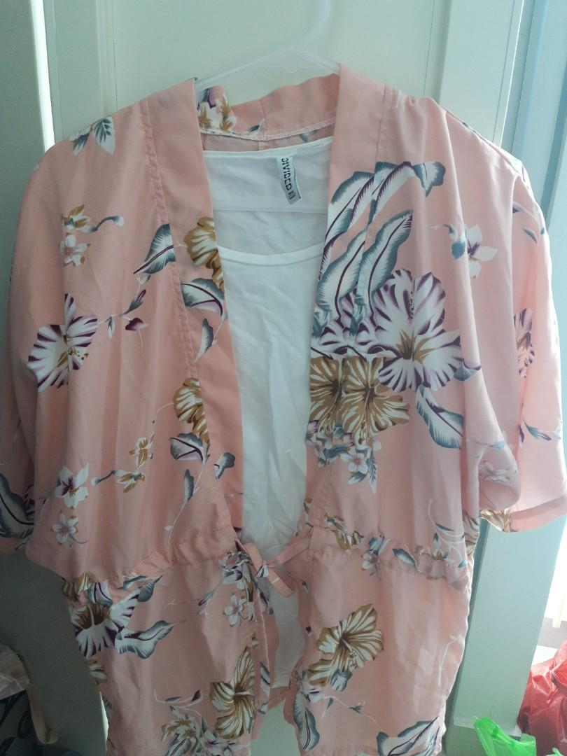 Outer Kimono Blouse