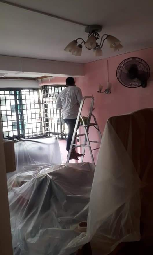 Painting,plaster,plumbing service provide