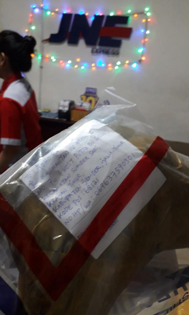 Paket tgl 23-10-2019 kirim ke jawa timur
