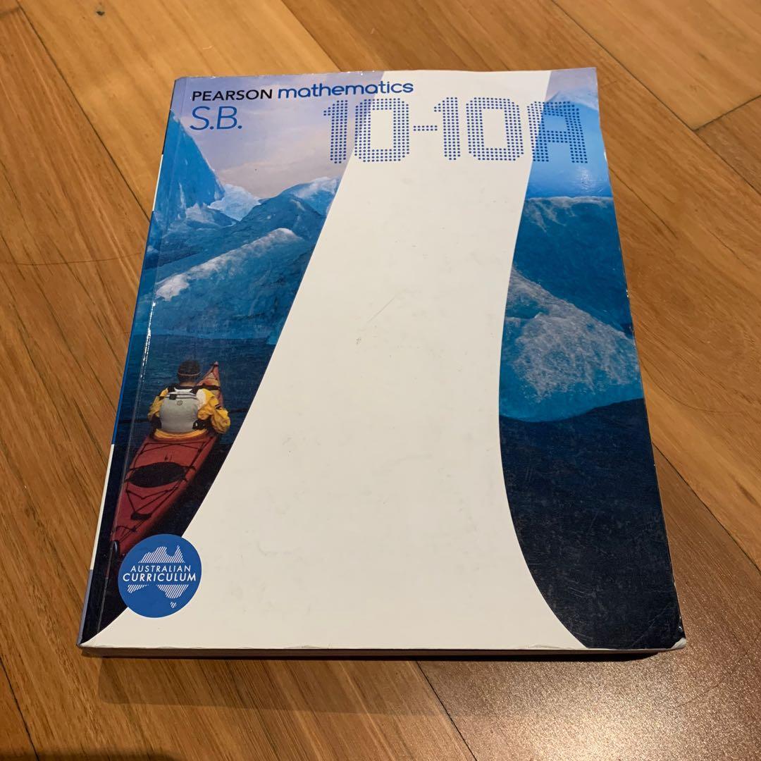Pearson Mathematics 10-10A Student Book
