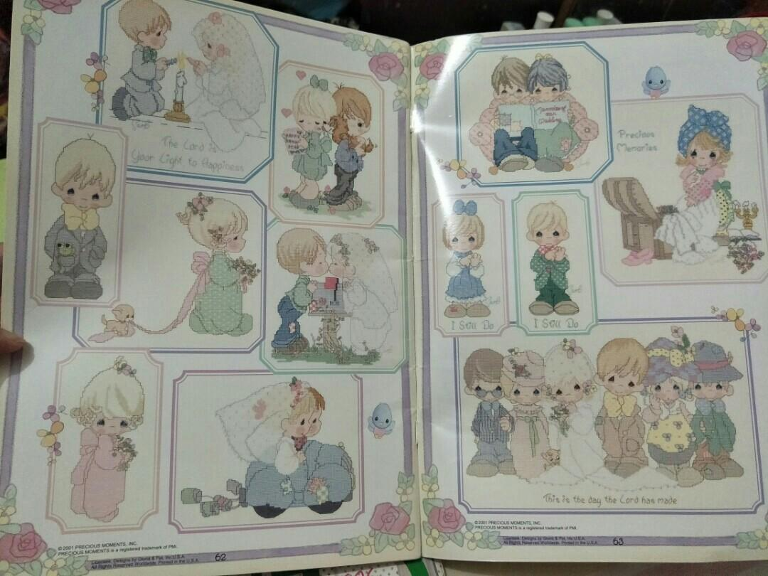 Precious Moments Wedding Collection cross stitch book