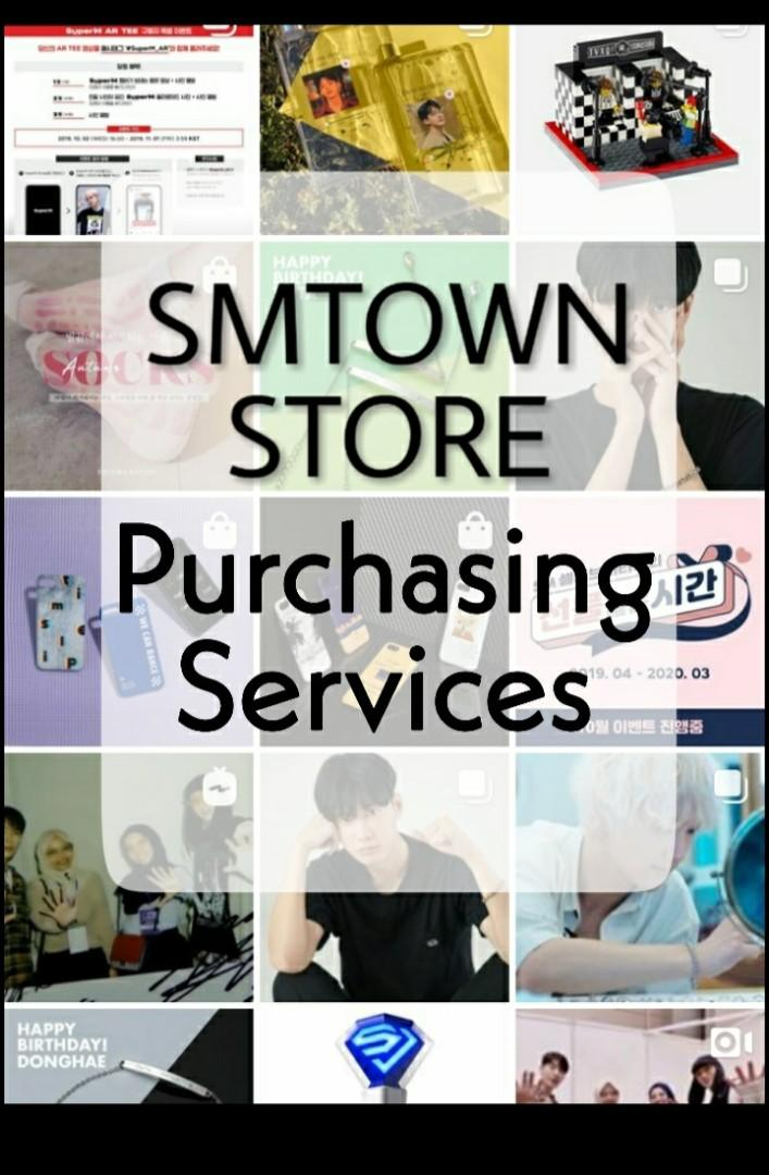 [CLOSED][PRE-ORDER/NO EMS] SMTOWN Artist Album, Official Lightstick and Merchandise