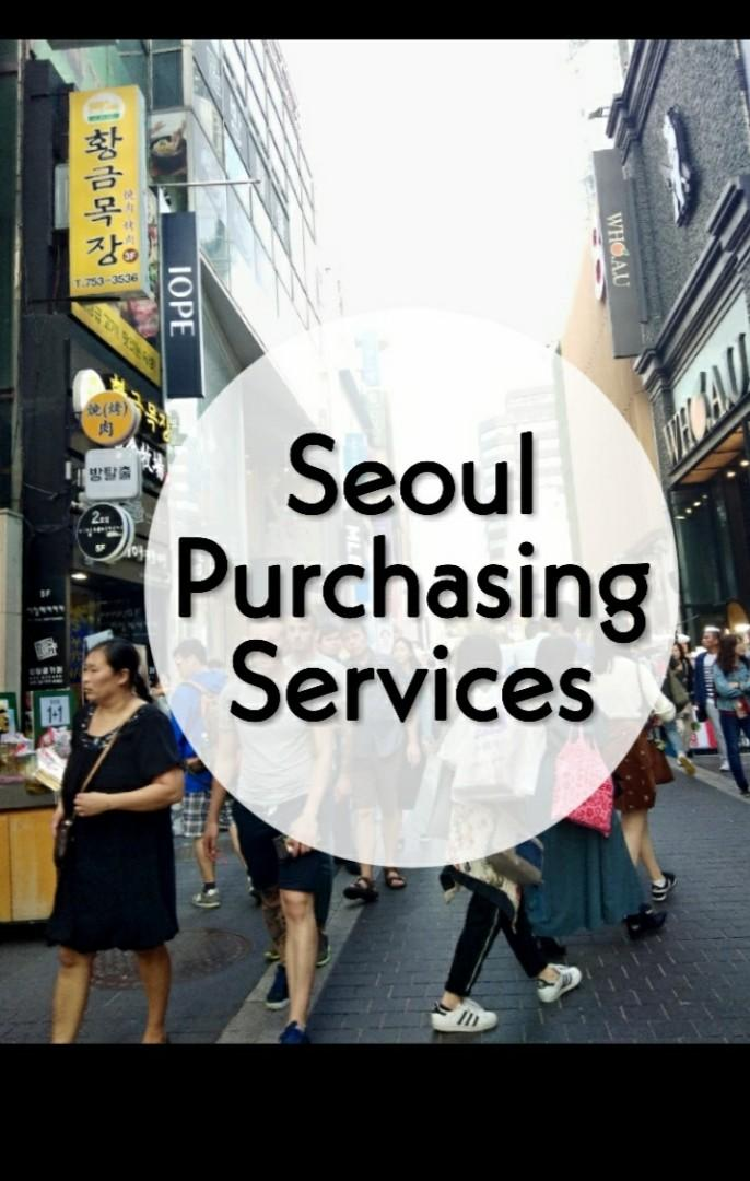 [CLOSED][PRE-ORDER/NO-EMS] Seoul Purchasing Services