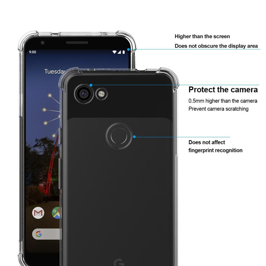 Protective Bumper Cover for Google Pixel 3a XL / 3a
