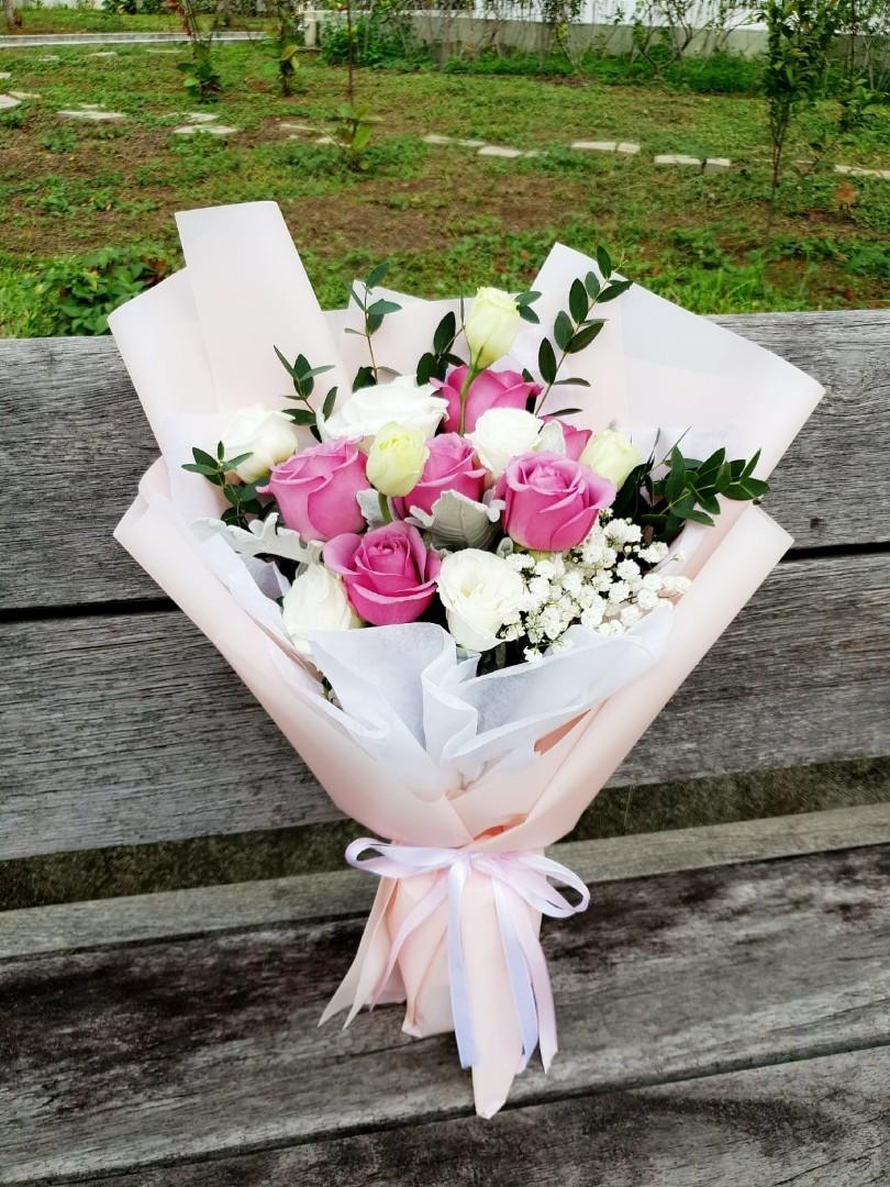 (R20) Rosa - Pink Roses Bouquet