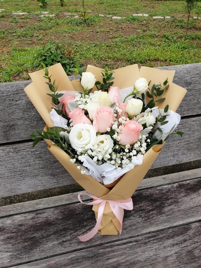 (R21) Rustique - Roses Bouquet