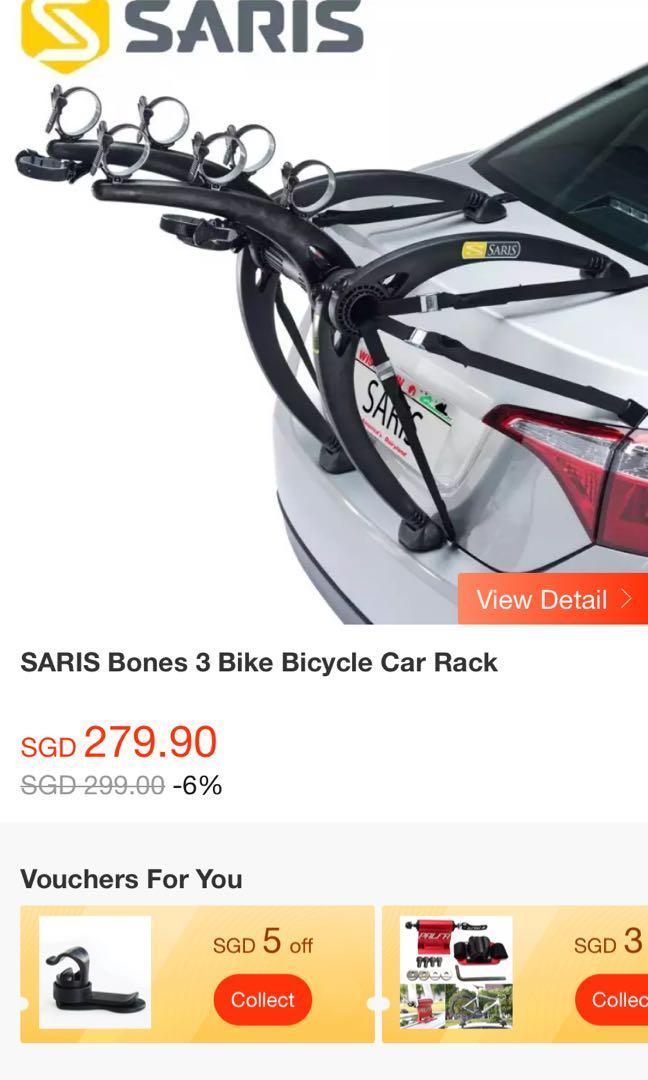 SARIS - 3 bike bicycle rack