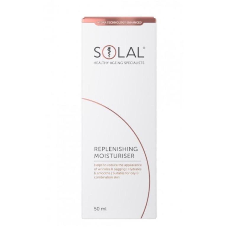 SOLAL Replenishing Moisturiser 50 mL RRP$50