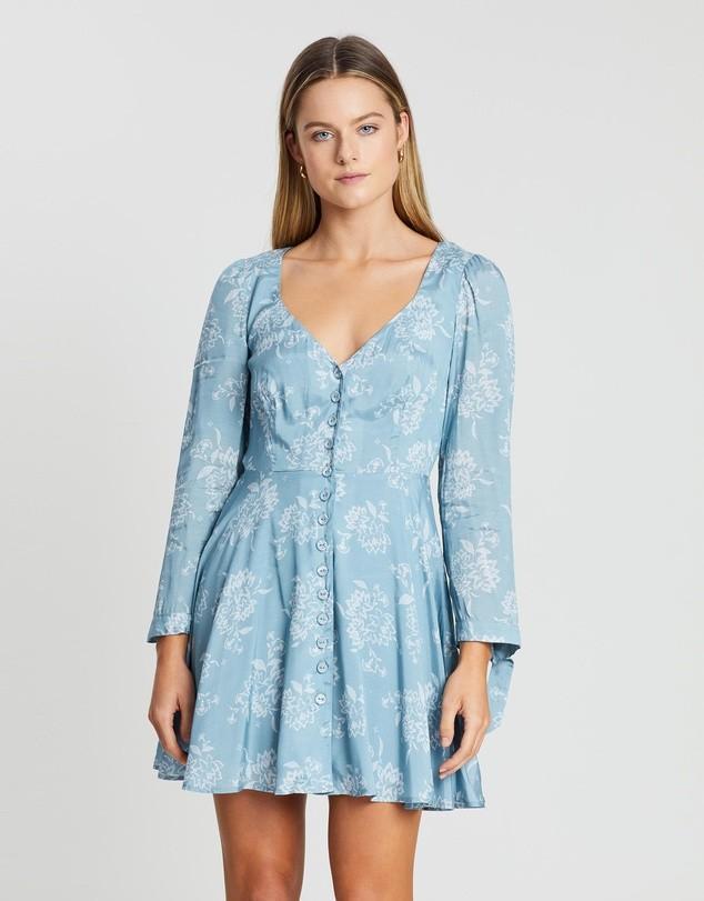 STEELE Maya Mini Dress in Seafoam - Size M BNWT RRP $230