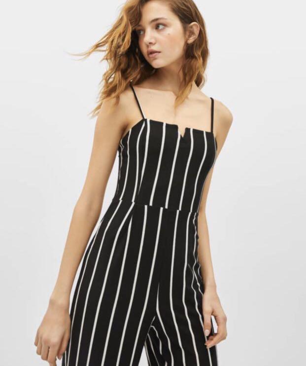 Stripes Jumpsuit Bershka New with tag