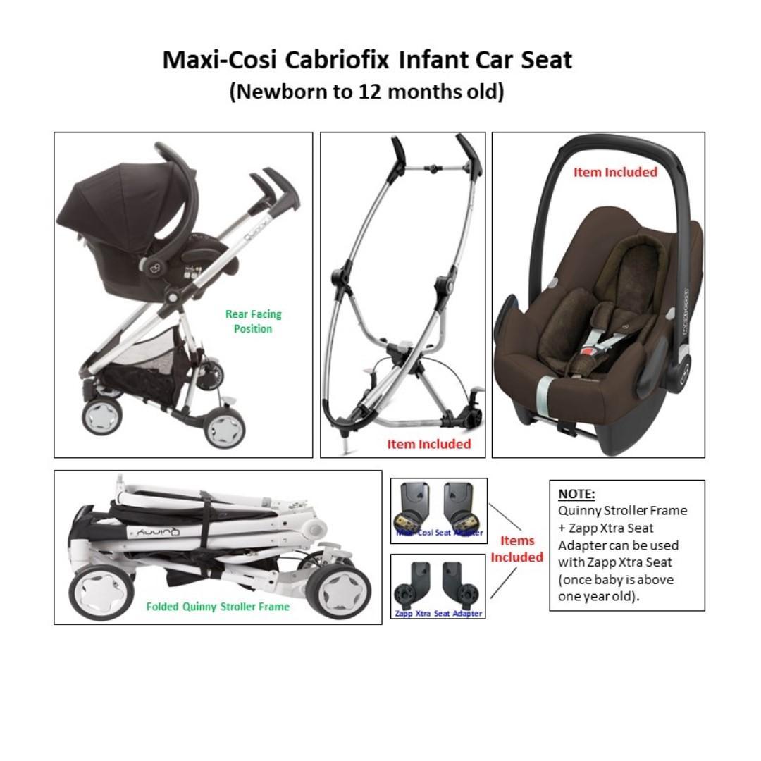 Stroller cum Car Seat