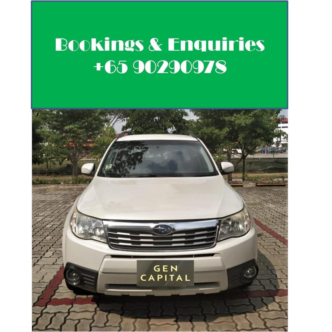 Subaru Forester - Available for weekend rent /  GRAB/GOJEK!!