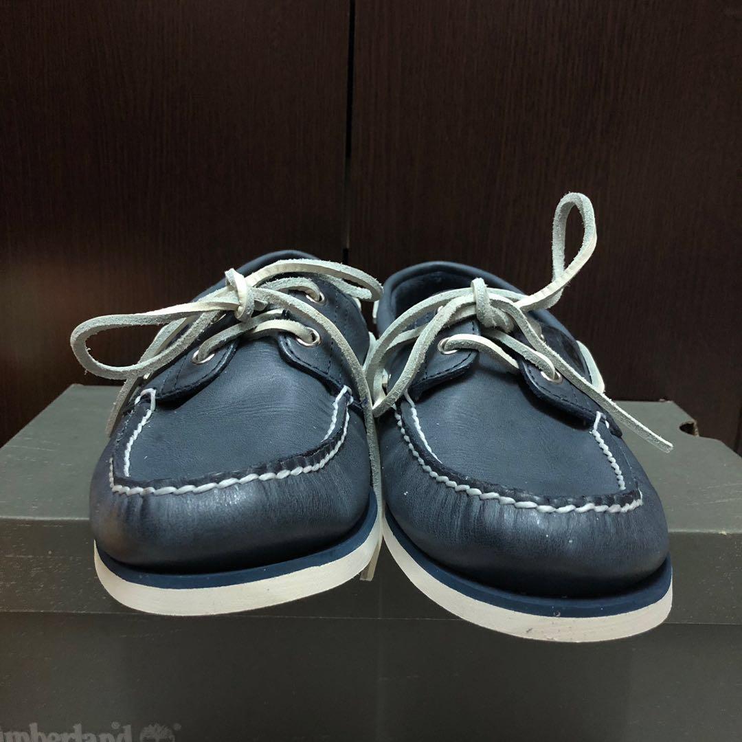 Timberland經典雷根鞋 時尚莫蘭迪藍 休閒鞋