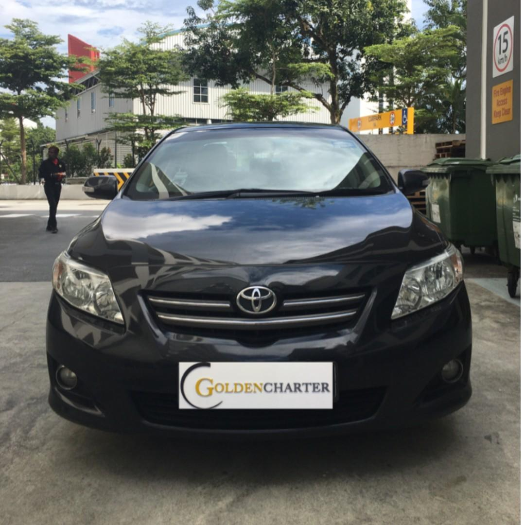 Toyota Altis For Rent, Personal or PHV can enquire now!