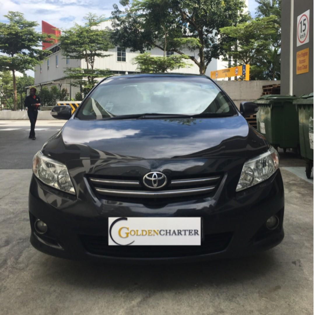 |Toyota Altis| Weekly Gojek Rental Rebate Available| Personal can enquire