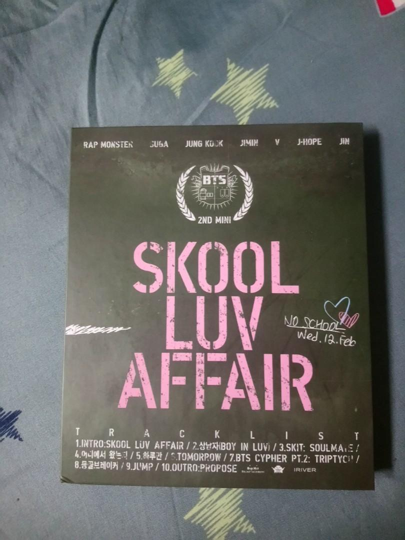 [WTS FAST] BTS SKOOL LUV AFFAIR UNSEALED OFFICIAL ALBUM