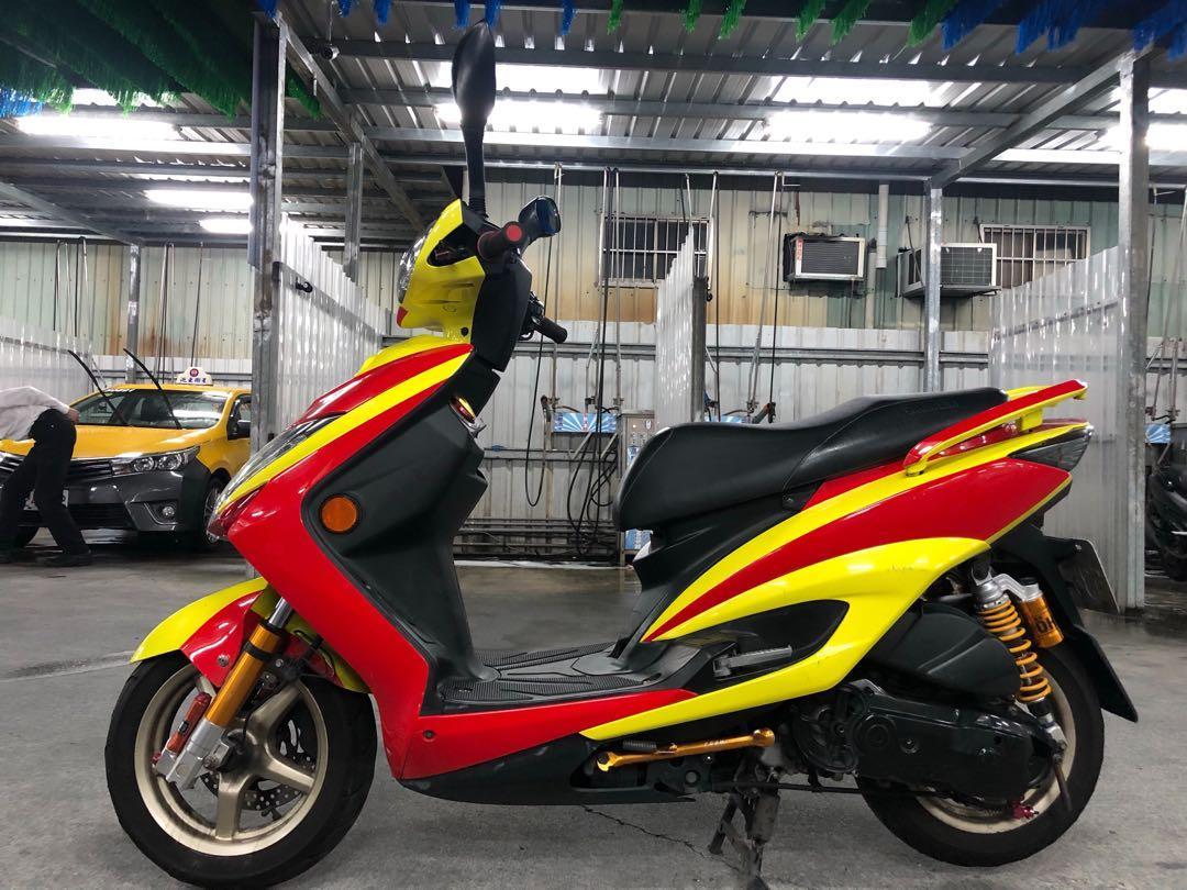 Yamaha 勁戰三代