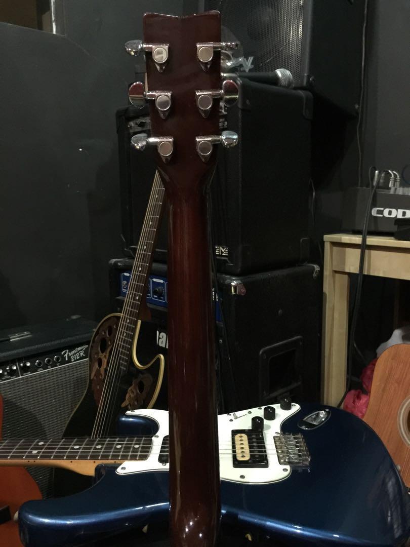 Yamaha Semi Acoustic Cutaway Tobacco Sunburst Guitar (Model: FX370C TBC)
