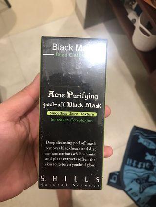Shills acne purifying peel off black mask