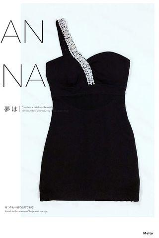 M01 Black Dress