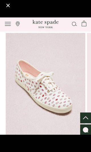 Kate Spade X Keds Lips Sneakers