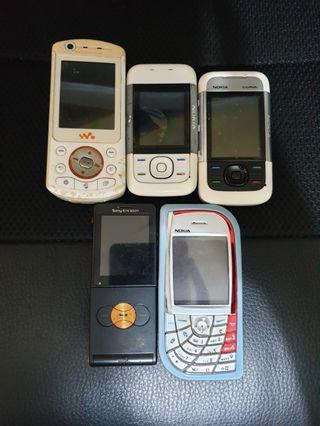 Sony Ericsson and Nokia Vintage