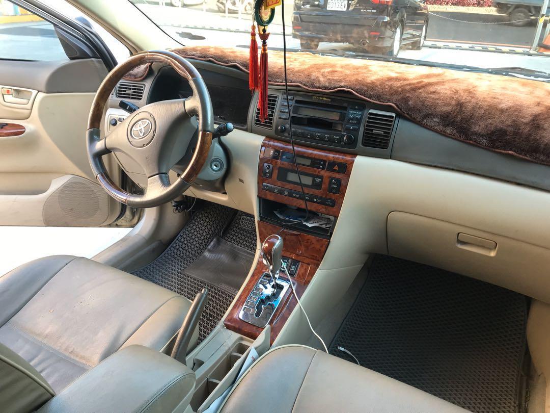 自售03年Toyota Altis改版 媽媽買菜車