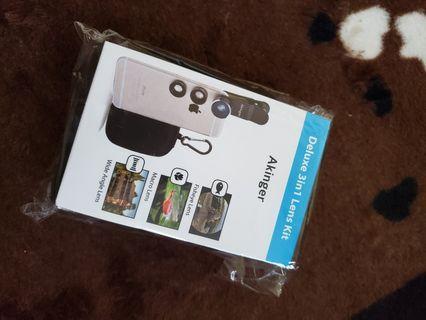 3 in 1 lens kit for phone