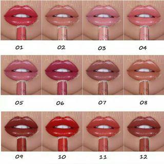 TERLARIS!!!! BEST SELLER!!!! Lipstik allen shaw murah. Lipstik import. Lipgloss murah