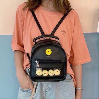 可愛 小雞背包 小雞蛋包 包包 後背包 雙肩包 迷你包 小雞