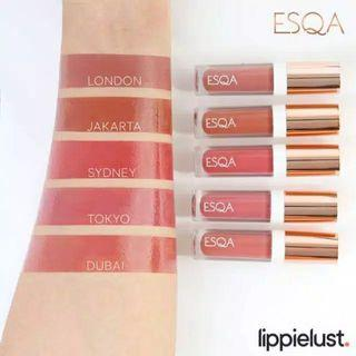 TERLARIS!!!! PALING MURAH!!!! Lipgloss esqa murah. Lipstik esqa murah. Lipstik artis. Lipstik halal