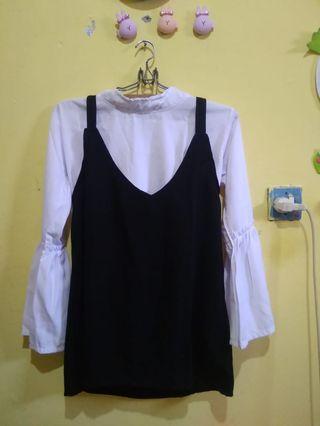 Blouse/ midi dress/ overalldress/ tunikoverall