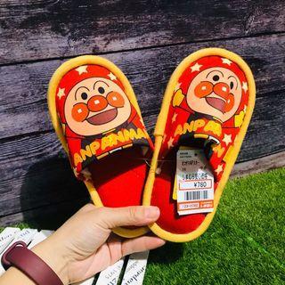 🇯🇵日本帶回 麵包超人兒童室內拖鞋 16cm