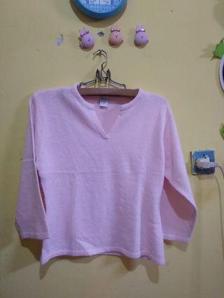 Atasan pink/ bloush pink