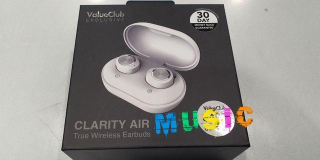 (NEW)  Clarity Air True Wireless Earbuds with warranty