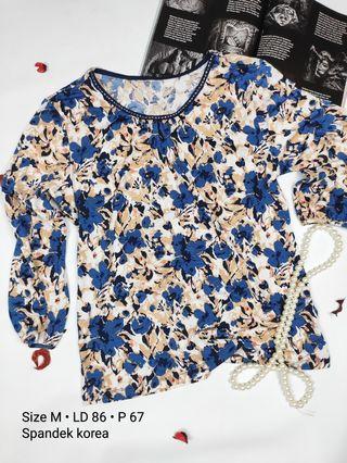 Corak bunga blouse / atasan #mauovo #joinoktober