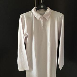 Polo shirt panjang wanita