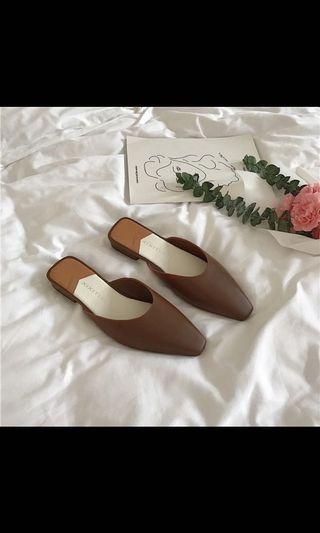 韓國氣質尖頭鞋