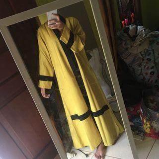 Dress abaya outer